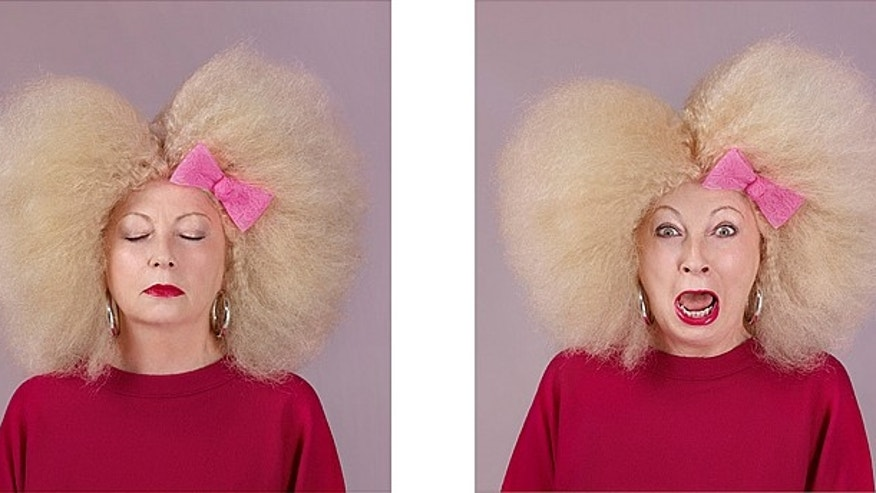 "The Mimi Foundation employed photographer Vincent Dixon to photograph cancer patients after they were given wacky makeovers. The results have been compiled into a book, ""If Only for a Second,"" that benefits the charity."