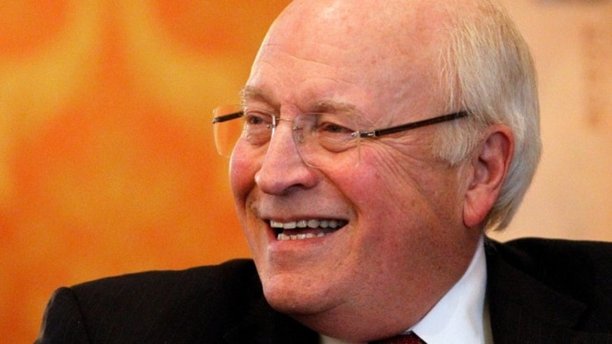 "Dec. 13, 2013: Former Vice President Dick Cheney smiles as he talks about his new book, ""Heart: An American Medical Odyssey,"" at Little America Hotel and Resort in Cheyenne, Wyo."