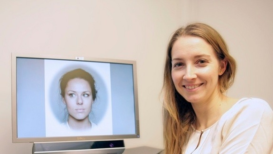 Study researcher Olga Chelnokova studied how the brain perceives beautiful faces.