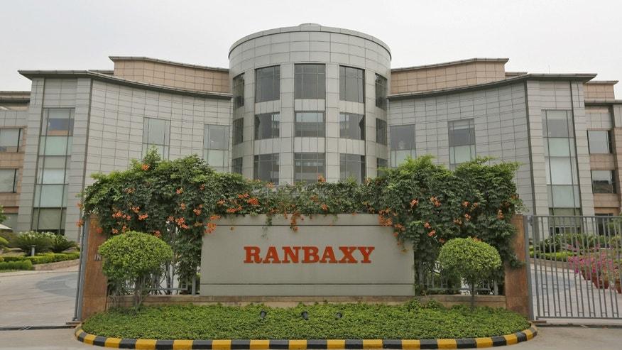 A general view of the office of Ranbaxy Laboratories is pictured at Gurgaon, on the outskirts of New Delhi.