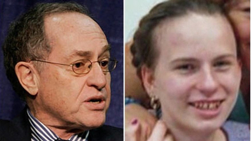 Legal legend Alan Dershowitz could be going to bat for the family of Justine Pelletier (r.). (AP, Pelletier family)