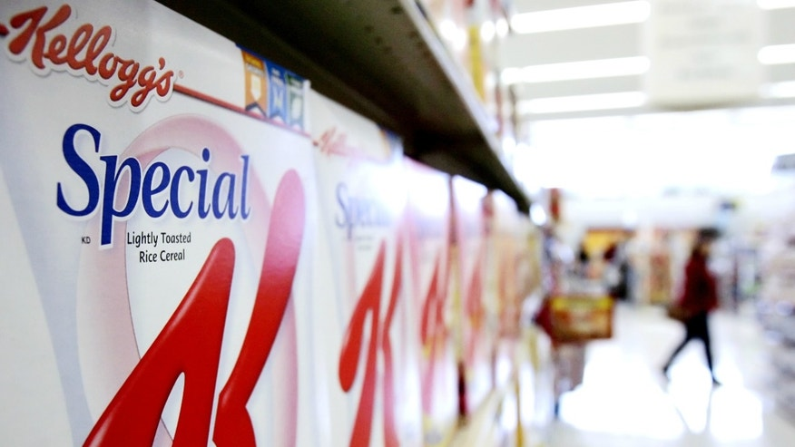 Boxes of Kellogg's Special K cereal are on display at a supermarket in an Omaha, Neb. The fixation on calorie counts that defined dieting for so long is giving way to other considerations, like the promise of more fiber or natural ingredients.