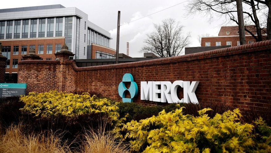 A view of the Merck & Co. campus in Linden, New Jersey.