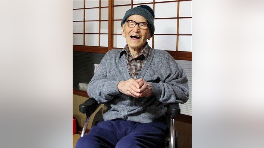 Jiroemon Kimura lived to be 116, making him the oldest man in recorded history. No word on how tall he was.