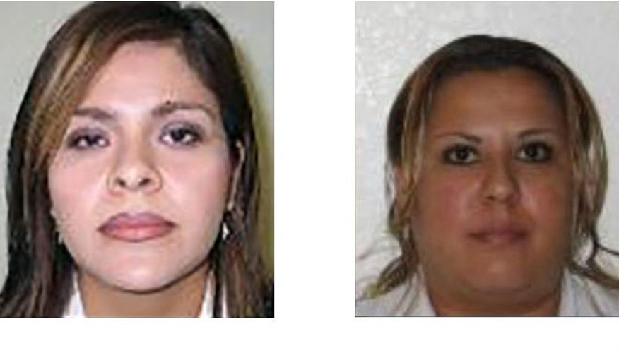 The FBI is currently searching for Ivonne Clarisa Ceballos Tapia (L) and Guadalupe Rubio Prado (R), on charges that they have been providing illegal butt-enhancing injections to patients. (FBI-Phoenix)