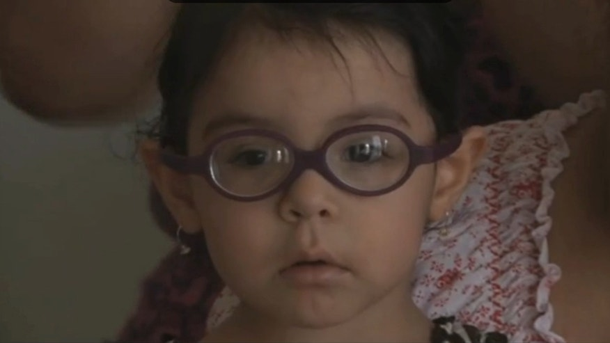 Pamela Soto, 2, recently had surgery that saved her eyesight thanks to the help of two Good Samaritans.