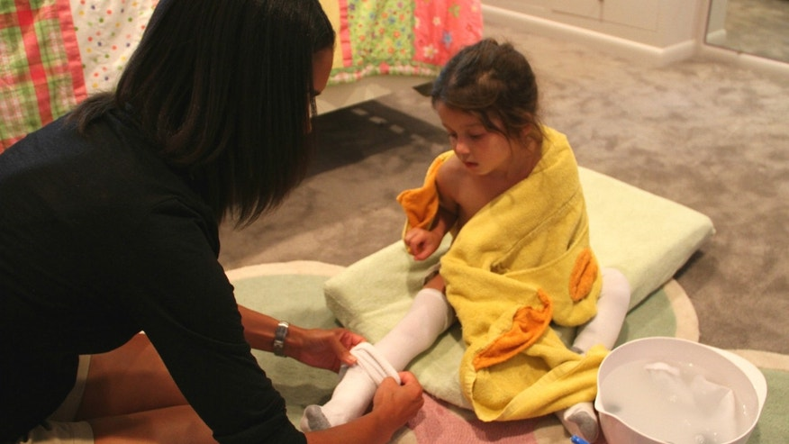A study conducted by experts at National Jewish Health in Denver shows wet wrap therapy vastly improves symptoms of eczema and atopic dermatitis in children.