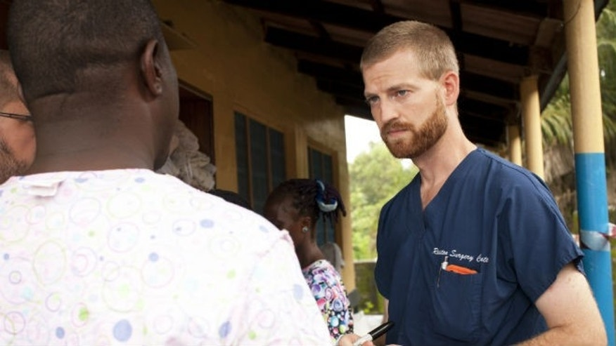 Dr. Kent Brantly, courtesy Samaritan's Purse