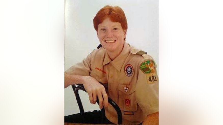 This undated photo shows 17-year-old AshytonChance Stone, who won't let autism stand in the way of his Eagle Scout dreams.
