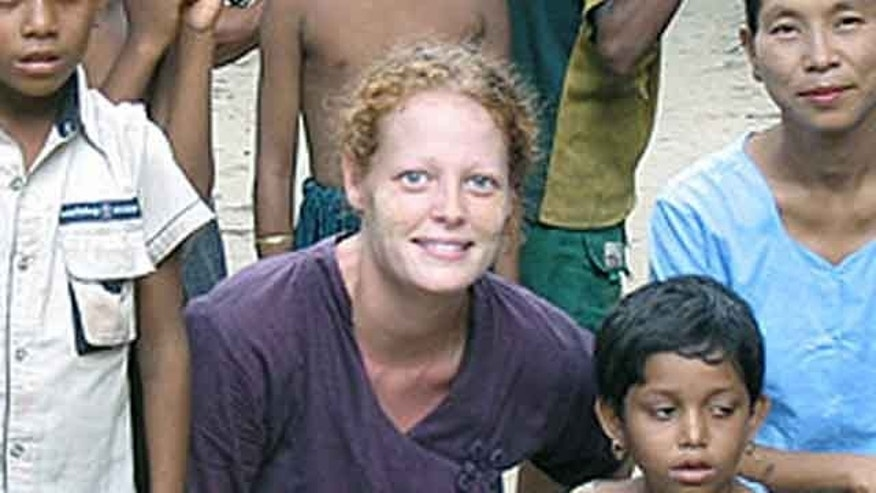 This undated image provided by University of Texas at Arlington shows Kaci Hickox. (AP Photo/University of Texas at Arlington)