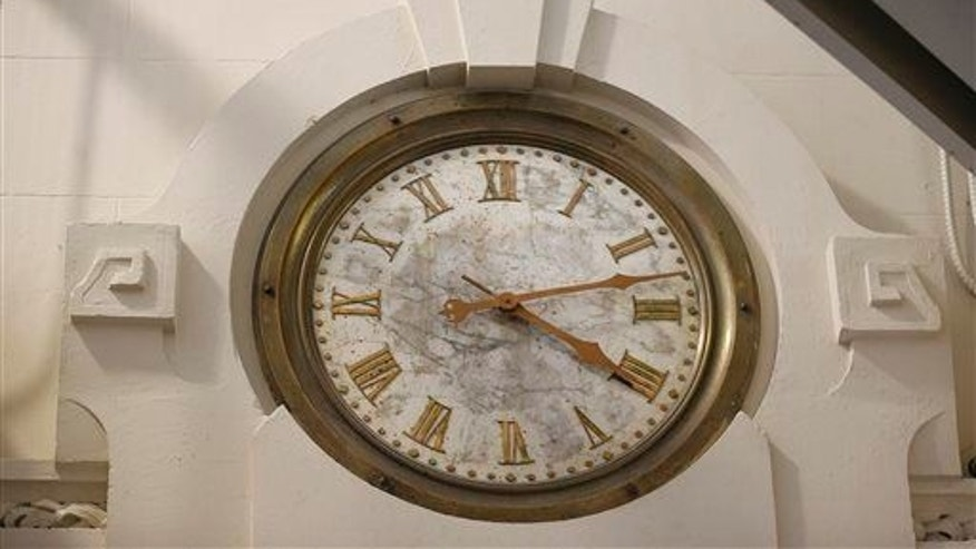 File photo of a clock.