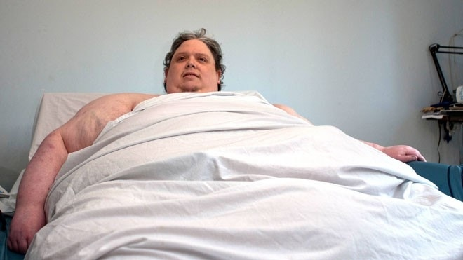 'Fattest man in the world' dies at age 44