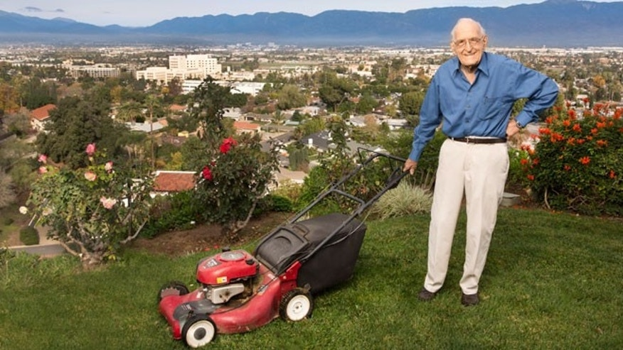 Dr. Ellsworth Wareham, 100, a celebrated heart surgeon, still mows his lawn and trims his bushes. He credits his longevity in large part to his vegan diet, which he adopted midlife.