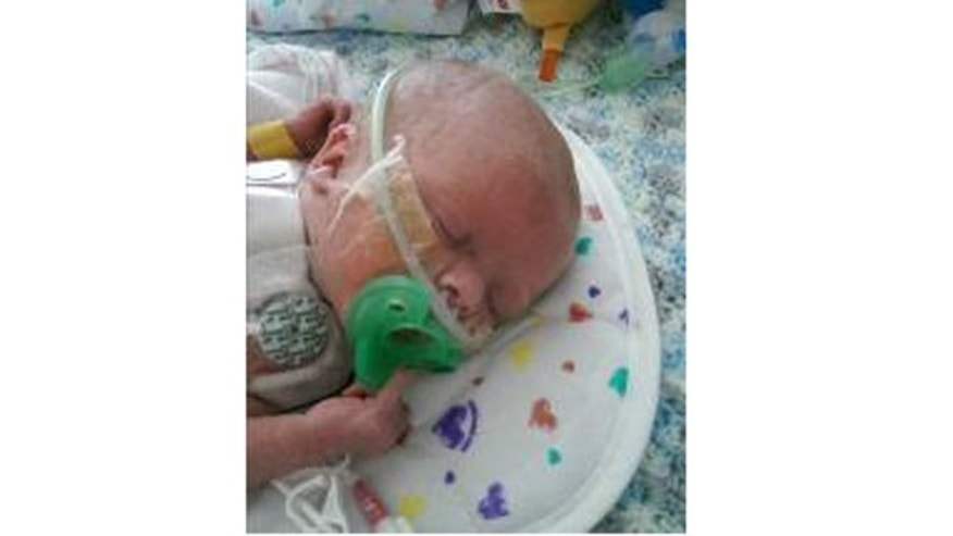 Oliver Hope received a heart transplant when he was just 6 days old.