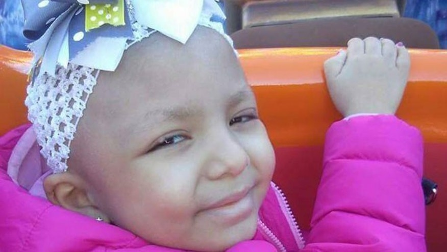 Jalene Salinas, who was 4, passed away late Sunday after battling an aggressive form of brain cancer since April 2014.