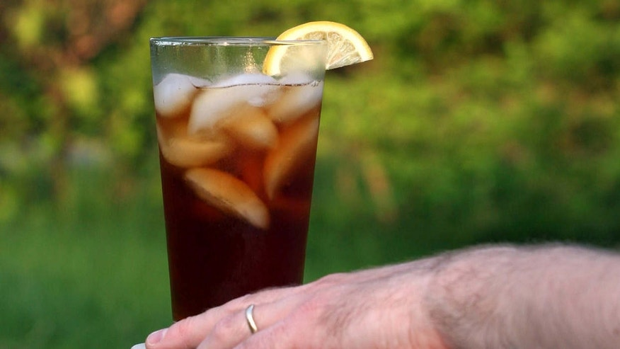 May 21, 2007: File photo shows a glass of iced tea.