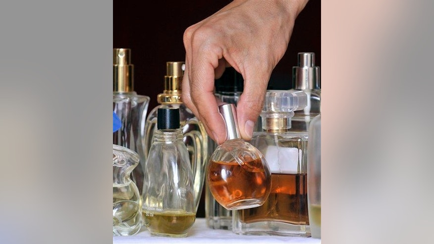 Various bottles of perfumes are pictured in Gelsenkirchen, Germany, Thursday, July 10, 2008.