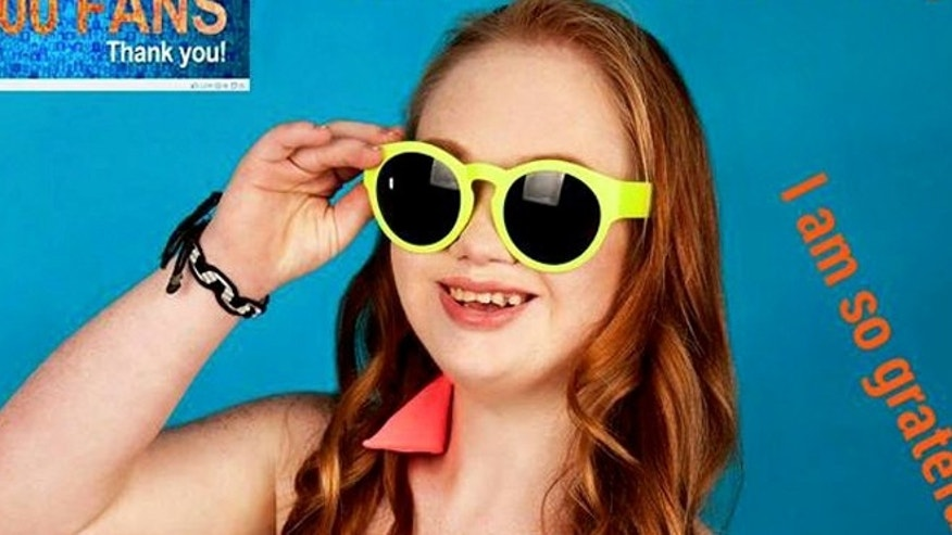 Madeline Stuart has Down syndrome and is looking to change traditional modeling standards.