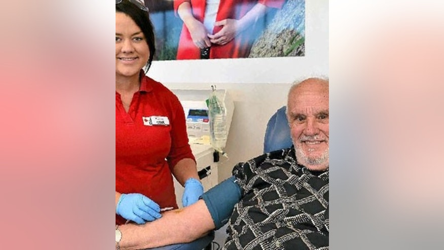 James Harrison, whose blood has antibodies that fight a blood disease that can lead to miscarriage, has donated plasma every week for the past 60 years.