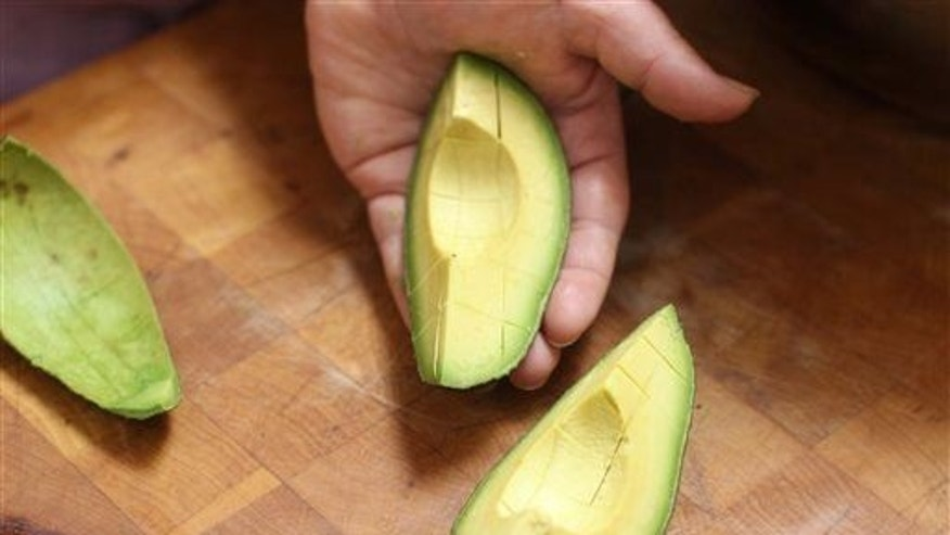 An avocado is shown.