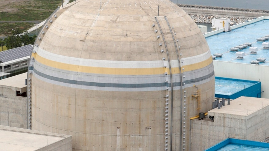 Sept. 3, 2013: The new Shin Kori No. 1 reactor of state-run utility Korea Electric Power Corp (KEPCO) is seen in Ulsan, about 255 miles southeast of Seoul.