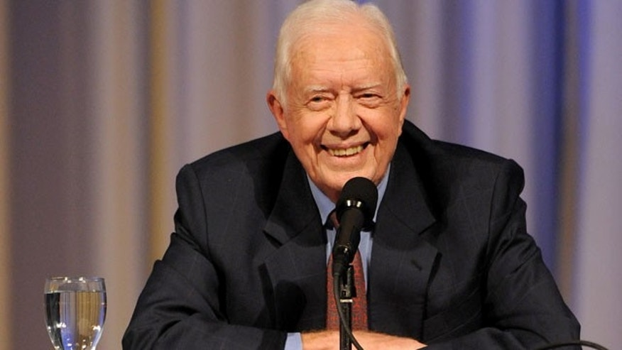 Sept. 14: Former President Jimmy Carter speaks at The Carter Center during a conversation in Atlanta.