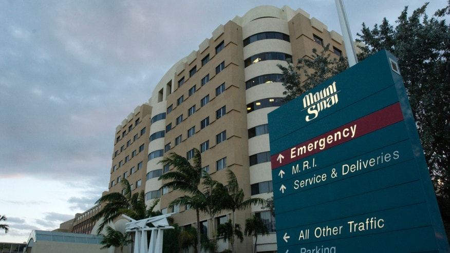 Mount Sinai Medical Center in Miami Beach, Florida. (Photo by David Friedman/Getty Images)