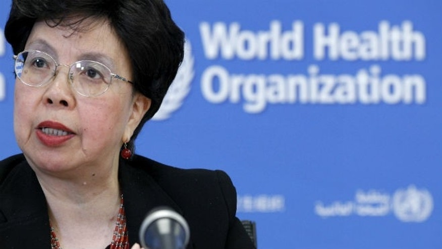 World Health Organization (WHO) Director-General Margaret Chan addresses the media on WHO's health emergency preparedness and response capacities in Geneva, Switzerland, July 31, 2015. REUTERS/Pierre Albouy