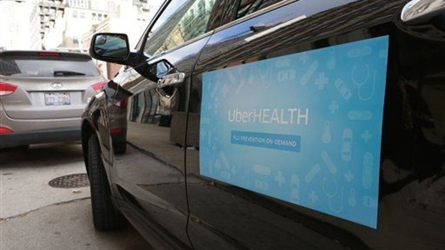 Uber delivered flu prevention kits and vaccines on demand throughout Chicago last year.