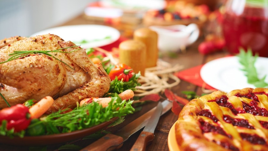 thanksgiving table istock