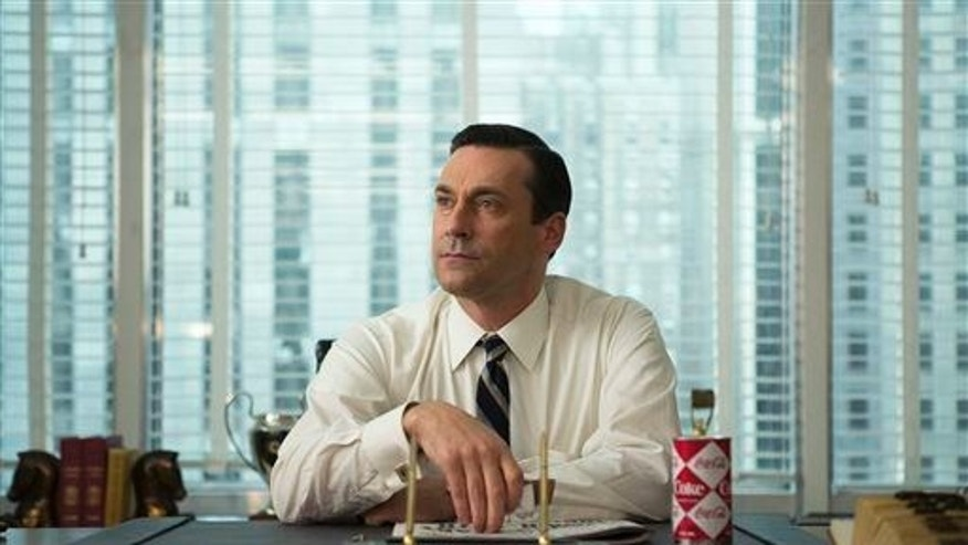 "Jon Hamm as Don Draper, in a scene from ""Mad Men."""