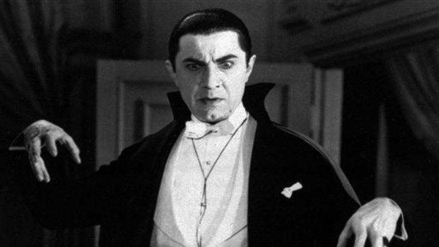 "FILE--This is an undated file photo originally provided by Universal Pictures, Bela Lugosi portrays Count Dracula in the 1931 film, Dracula."" (AP Photo/Universal Pictures, file)"
