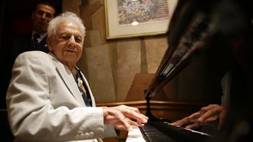 New York City���s oldest cabaret singer and piano player Irving Fields celebrates his 100th birthday in August. A new study suggests that centenarians have fewer genes linked to major illnesses.