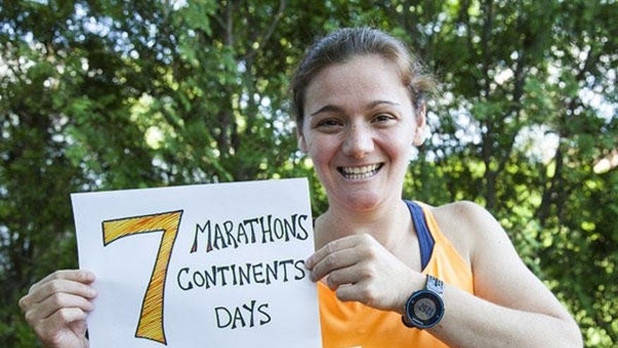 Becca Pizzi has upped her training into an already busy life to take on the World Marathon Challenge.