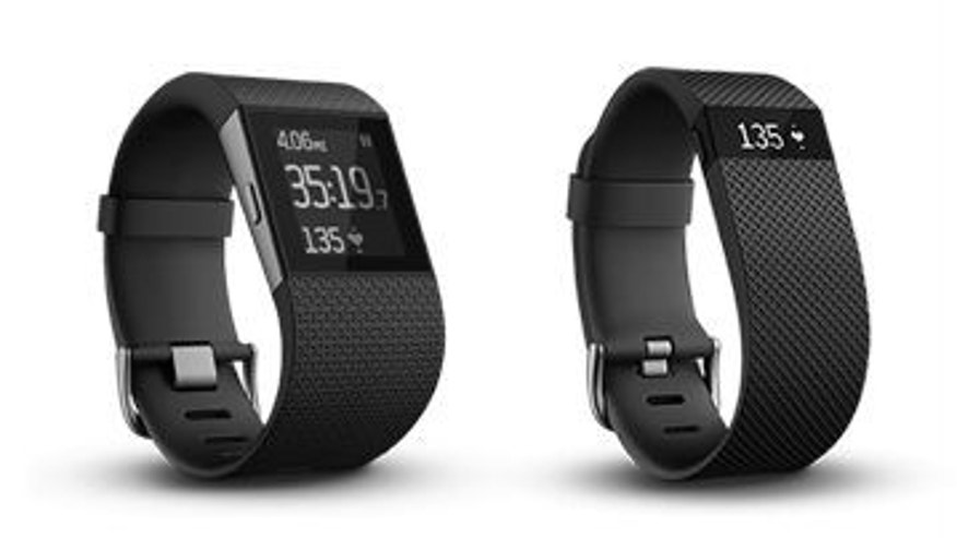 The Fitbit Surge and FitBit Charge HR