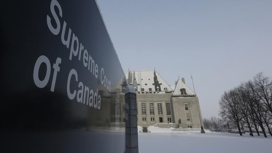 A view shows the Supreme Court of Canada in Ottawa February 6, 2015. REUTERS/Chris Wattie