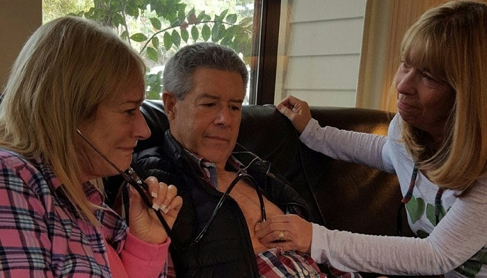 'String of miracles': Mom hears son's heart beat in man ...