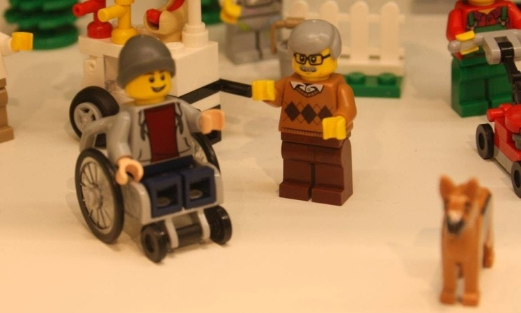 LEGO creates first disabled figurine of boy with guide dog