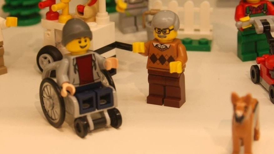 LEGO disabled figure FB