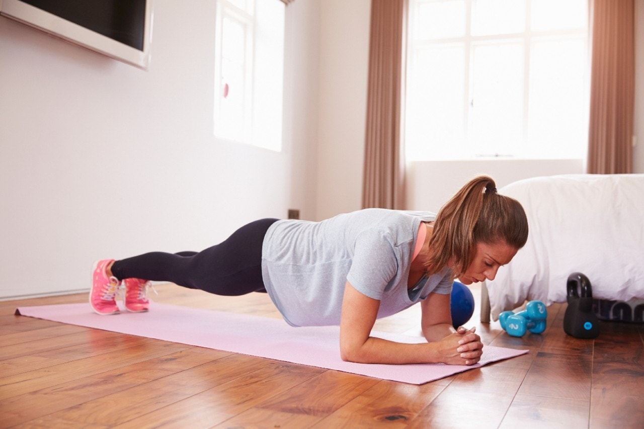 16-minute no-equipment workout to bust boredom