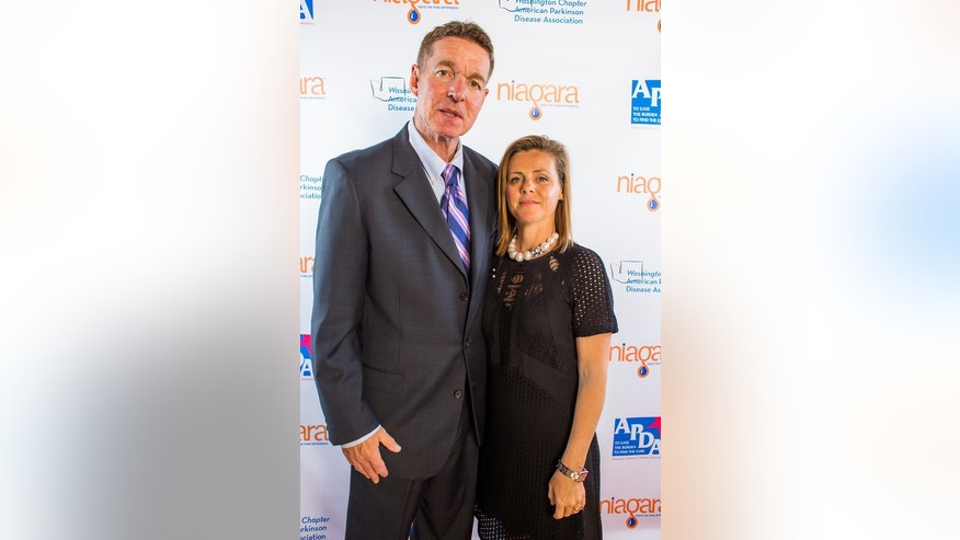 Don and Maura Horton pose for a photo at the Magic Of Hope Gala for the American Parkinson's Disease Association in 2014.