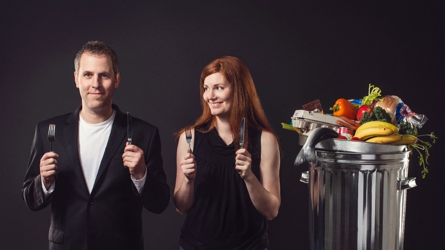 Grant Baldwin and Jen Rustemeyer only ate food from dumpsters for six months.