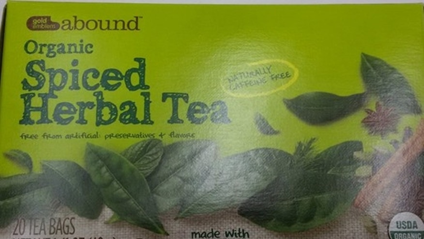 abound spiced herbal tea recall FDA