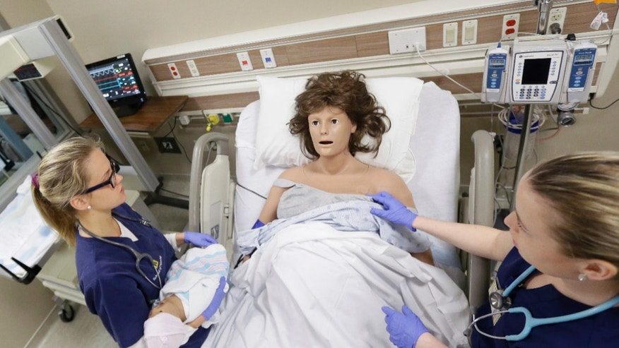 mannequins michigan nurse training AP
