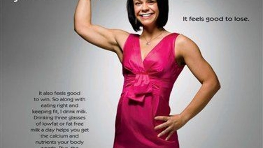 "In this 2008 image released by the Milk Processor Education Program, Ali Vincent is shown in the latest ""got milk"" print advertisement."