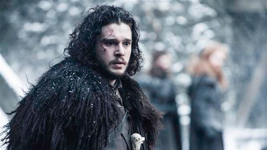 """Jon Snow, formerly and once again alive, in a scene from """"Game of Thrones."""""""