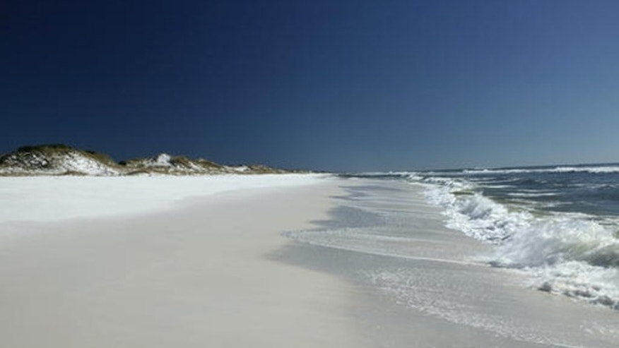 This undated photo provided by Visit South Walton shows Grayton Beach on Florida's Panhandle on the Gulf Coast.