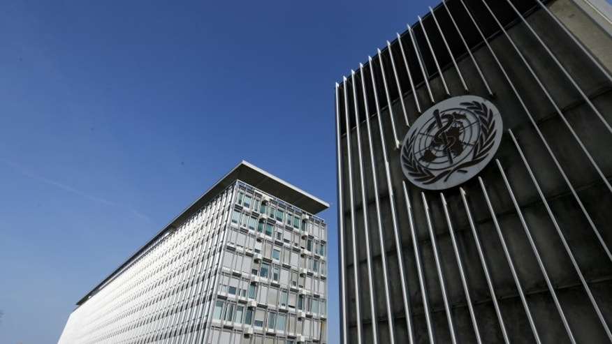 The headquarters of the World Health Organization are pictured in Geneva