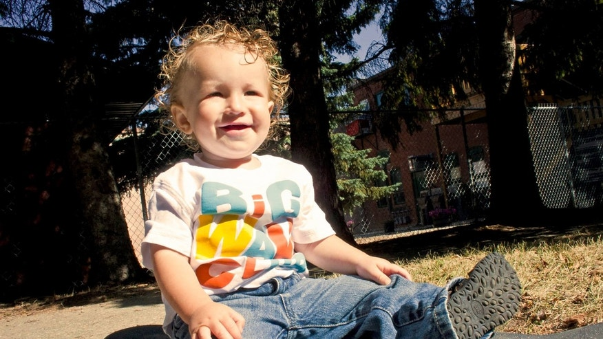 Ezekiel Stephan, 19 months, died in March 2012. (Prayers for Ezekiel.)