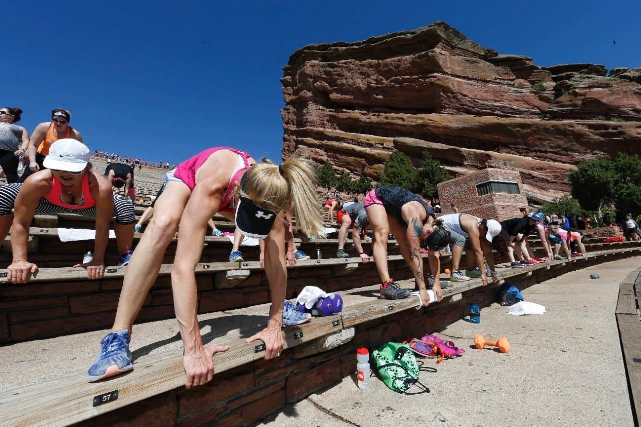 Forget the gym, workout buffs hit up national landmarks